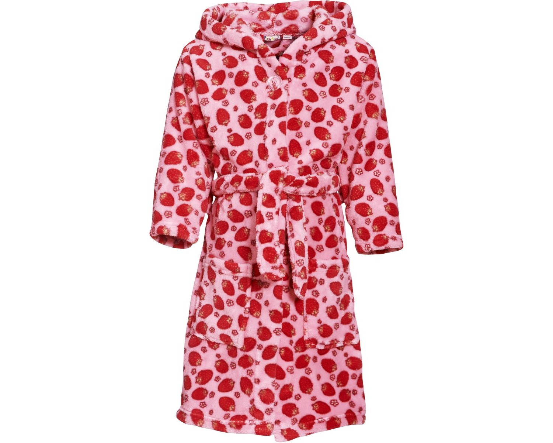 Playshoes Fleece-Bademantel Veilchen Polyester Ökotex 100