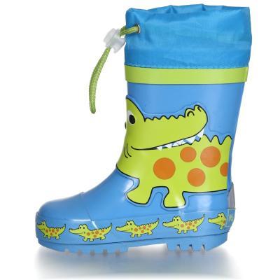 Playshoes Gummistiefel Halbschaft Krokodil